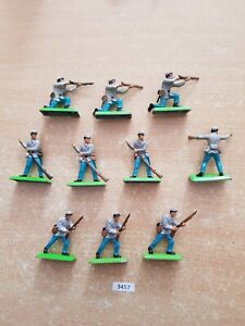 Britains Deetail - ACW Confederate Infantry (lot 3457))