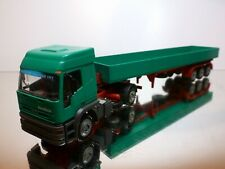 CONRAD IVECO EUROTECH TRUCK of THE YEAR 1993 + TRAILER - GREEN 1:50 - VERY GOOD