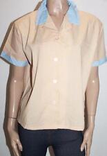 TARGET Brand Pink Yellow Stripe Short Sleeve Sleepwear Shirt Size 16-18 BNWT