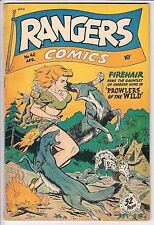 Rangers Comics #40 (GOOD GIRL ART ! ) F/VF SHARP COPY !