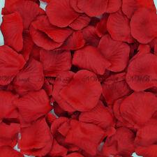 100-1000 Deep Red Rose Petals Engagement Wedding Celebration Table Aisle Décor