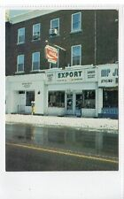 TERNEY'S SMOKE SHOP, OWEN SOUND: Ontario, Canada postcard (C19524)