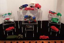Vintage Hard Plastic Playset Cars & Trucks Pyro, Allied, Acme, Renwal