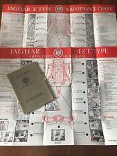 RARE Jaguar E-type  Series 2+2 Owners Manual Handbook Maintenance Charts E/131/5