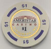 Ameristar Casino $1 Casino Chip Gaming Token Blackhawk Colorado