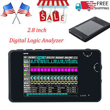 "Digital Logic Analyzer La104 Usb 4 Channels 100Mhz Max 2.8"" Oscilloscope T2O0"