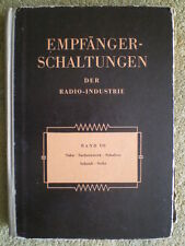 Ricevitore circuiti della radio-industria volume 7-RDT libro 1956 Saba Schaub Seibt