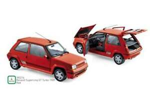 RENAULT 5 Supercinq GT Turbo 1989 red rot  185216 Norev RAR 1:18