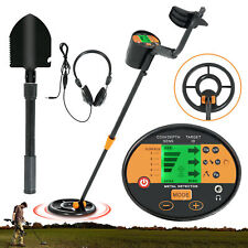 Waterproof Lcd Metal Detector Md3060 Deep Sensitive Gold Digger Hunter w/ Shovel