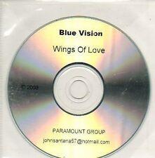 (915D) Blue Vision, Wings of Love - DJ CD