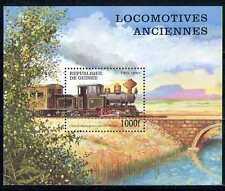 Guinea 1997 Trains/Steam/Transport/Railways m/s n27589
