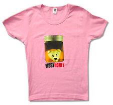 Moby Honey Jar Girls Juniors Pink T Shirt New Official Merch Medium