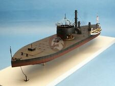 """Cottage Industry 1/96 U.S.S. Monitor Union Ironclad """"Cheesebox On A Raft"""" 96008"""