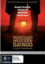 SUKIYAKI WESTERN DJANGO DVD=QUENTIN TARANTINO=REGION 4 AUSTRALIAN=NEW AND SEALED