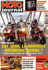 MOTO JOURNAL 1717 HARLEY DAVIDSON VRSCD 1130 Night Rod HONDA CBF VFR CB 1300 S