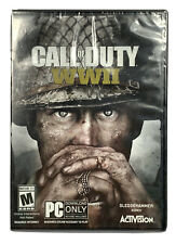 Call of Duty: WWII (PC, 2017) New Factory sealed Game
