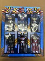 Sentai power rangers robot popy chogokin bioman bandai toei Tokusatsu Zyuranger