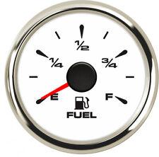 1pc 52mm Auto Pointer Fuel Level Gauge E-F Fuel Level Meter 0-190ohm 240-33ohm