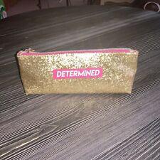 Marilyn Monroe Gold Determined Cosmetic Bag