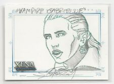 Gabrielle XENA Art & Images Hand Drawn Sketch Card SketchaFEX by Scott Rosema