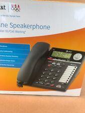 AT&T 2-Line Office Phone Model 993 Black