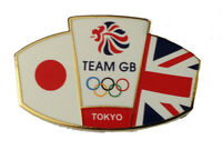 OFFICIALLY LICENSED TEAM GB TOKYO FRIENDSHIP OLYMPIC PIN