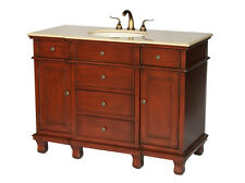 48-Inch Traditional Style Single Sink Bathroom Vanity Model 2507-505 Be