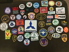 Vintage Lot of 50 Assorted Embroidered Patches in Fantastic Condition
