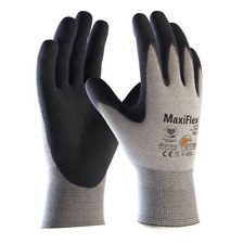 12 x Maxiflex 34-774 Elite ESD Thin Precision Assembly Palm Coated KW Gloves