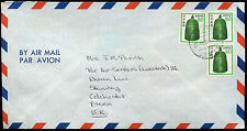 Japan 1987 Commercial Air Mail Cover To England #C30870