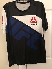 "REEBOK UFC Combat ""Ronda Rousey"" MMA fight shirt men's size: Large"