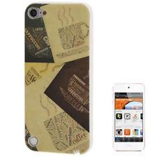 Silikon Case Schutzhülle für Apple iPod Touch 5 Cappuccino Coffee Hülle Cover