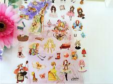 Novelty Lolita Japanese Cartoon Sticker Scrapbook card DIY Diary Kids Cosplay