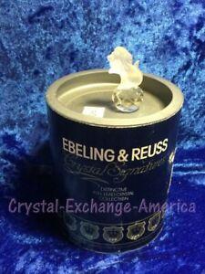 Ebeling & Reuss (Crystal Signatures) Lion on Ball by Swarovski 69006 - MIB