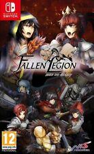 Fallen Legion Rise To Glory Nintendo Switch * NEW SEALED PAL *