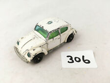 VINTAGE CORGI JUNIORS 3 WHIZZWHEELS VW VOLKSWAGEN 1300 BEETLE POLICE CAR DIECAST