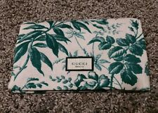 GUCCI Bloom Pouch /make up bag with magnetic close cotton new free shipping