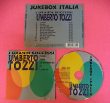 CD UMBERTO TOZZI I Grandi Successi 2007 Europe RHINO no lp mc dvd  (XI5)