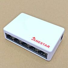 5 port 10/100 ethernet network switch 10/100Mbps hub plastic USB power