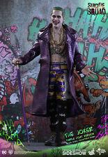 "The Joker Purple Coat Version Jared Leto Suicide Squad MMS382 12"" Figur Hot Toys"