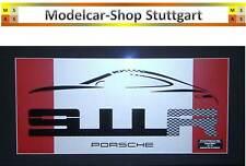 Porsche 911 R Wall Shilouette Wandschild 2017 - Limited Edition 91 - fabrikneu
