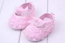 Pink All Flower Baby Boy Girls Shoes Soft Sole Kids Toddler Infant Boots Prewalk
