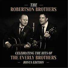 ROBERTSON BROTHERS CELEBRATING THE HITS OF EVERLY BROTHERS Bonus Edition CD NEW