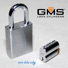 Rekeyable Padlock To Your House or Business - Schlage SC1 Keyway, 2 Keys