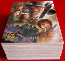 Lord Of The Rings, MASTERPIECES II - COMPLETE BASE SET of 72 cards - Topps 2008