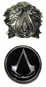 Assassins Creed Gaming Themed Enamel Metal Belt Buckle Set of 2