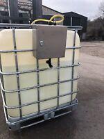 Fork Lift IBC sprayer - Brine, Ecothaw +, Liquid de-icer, Salt, Salt Spreader