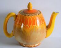 Vintage Shelley Tulip Shape Harmony Drip Ware Pattern Small Teapot