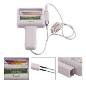 Testeur de pH portable Compteur de chlore Piscine Moniteur de qualité de eau