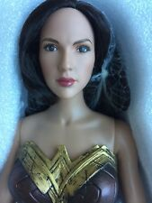 "TONNER DC STARS WONDER WOMAN # 1 GAL GADOT 16"" Dressed Doll No Shield No Stand"